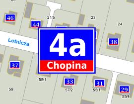 Działki, budynki, adresy